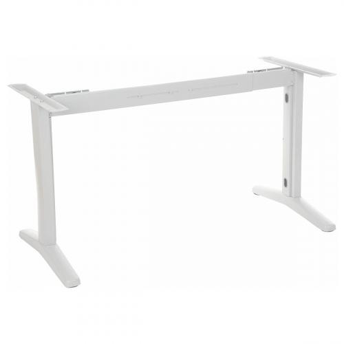 Stelaż metalowy do stołu i biurka EF-STT-01 biały- rozsuwana belka