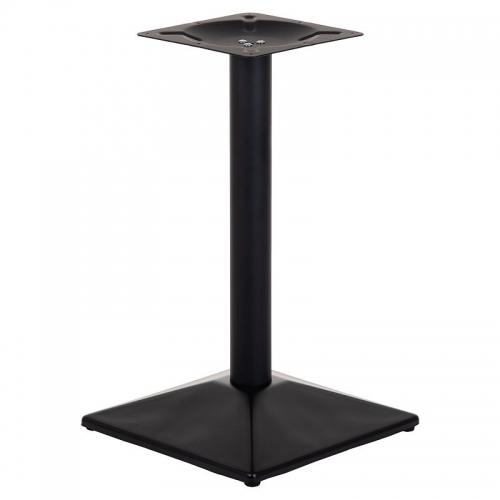 Podstawa do stolika EF-E44 czarna - wysokość 60 cm 45x45