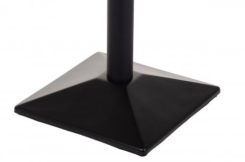 Podstawa do stolika EF-SH-4002-8/B  50x50 cm, wys. 73 cm
