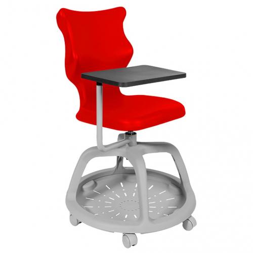 ENTELO Dobre krzesło obrotowe POCKET PLUS nr 6 z ruchomym pulpitem