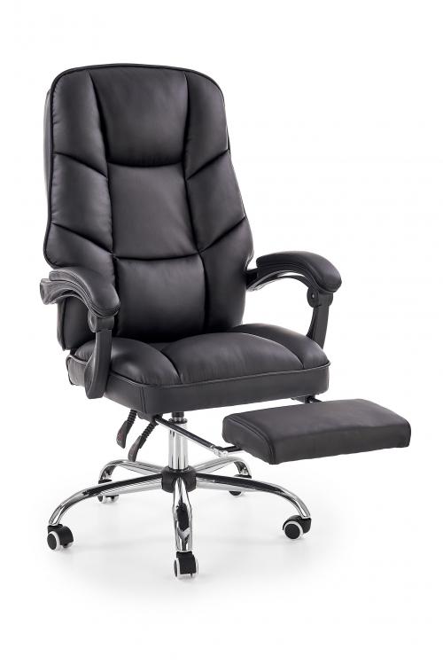 ALVIN fotel gabinetowy czarny