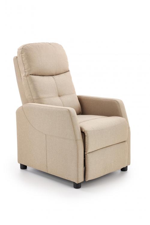 FELIPE fotel wypoczynkowy beżowy (1p=1szt)