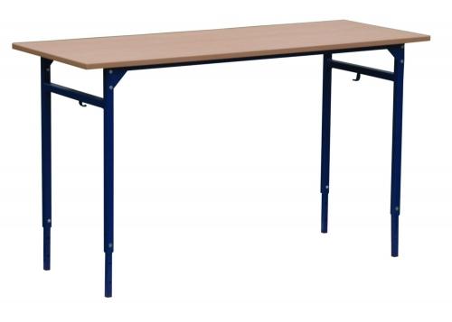 Stolik szkolny LEON 2 osobowy REGULOWANY