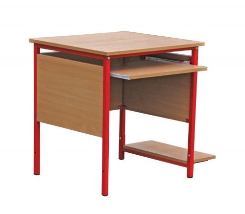 Biurko komputerowe EMILKA z półka na komputer