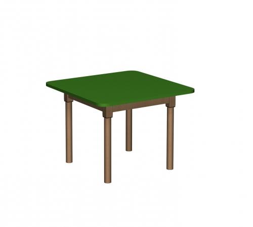 Stolik MB kwadratowy drewniany/ opcja regulacja wysokości
