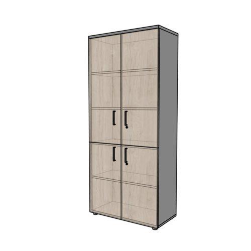 Szafa biurowa RG4 4 - drzwiowa