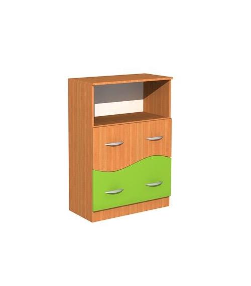 Regał z szufladami Fala 31