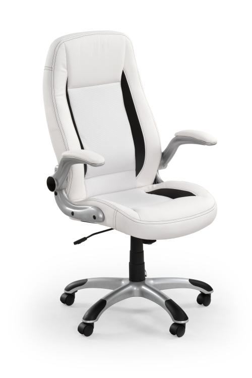 Fotel obrotowy SATURN biały