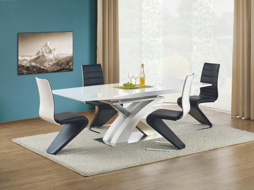 Stół rozkładany SANDOR biały lakierowany