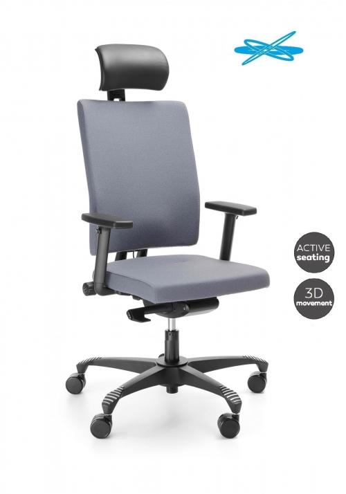 Fotel Biurowy obrotowy MATE MT 103 SBF - z zagłówkiem