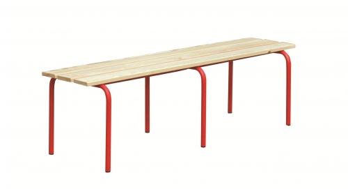 Ławka korytarzowa fi 25 bez oparcia deska sosnowa dł. 150 cm