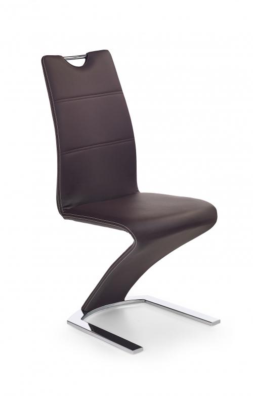 Krzesło konferencyjne K188 brązowe