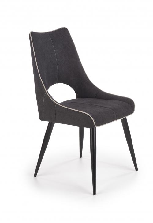 K369 krzesło w kolorze ciemny popiel