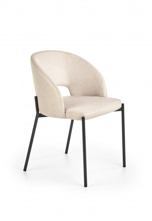 K373 krzesło w kolorze beżowym (1p=2szt)