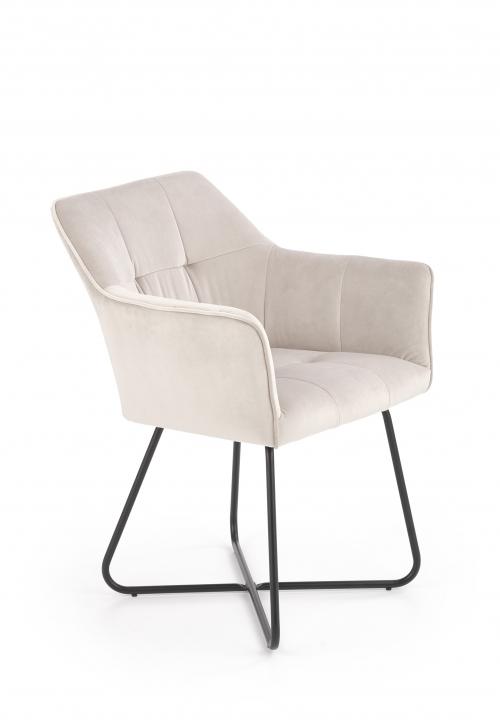 K377 krzesło w kolorze beżowym (1p=2szt)