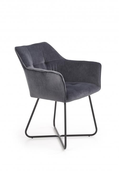 K377 krzesło w kolorze popielatym (1p=2szt)