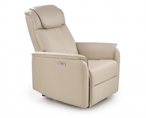 PARADISE fotel wypoczynkowy z fukcją elektrycznego rozkładania oraz funkcją kołyski