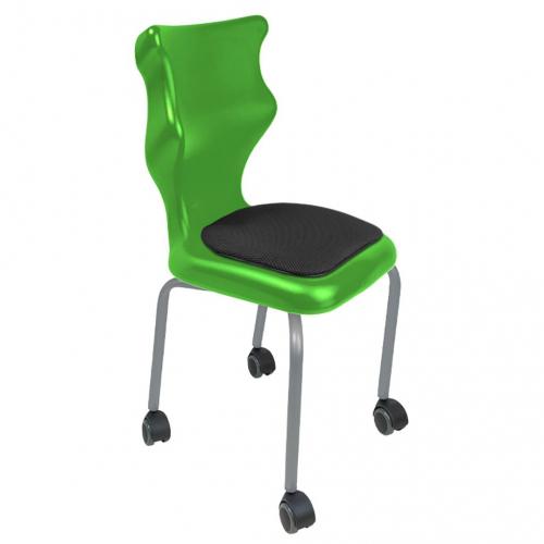 Krzesło ucznia Spider Move Soft nr 6 - stelaż biały