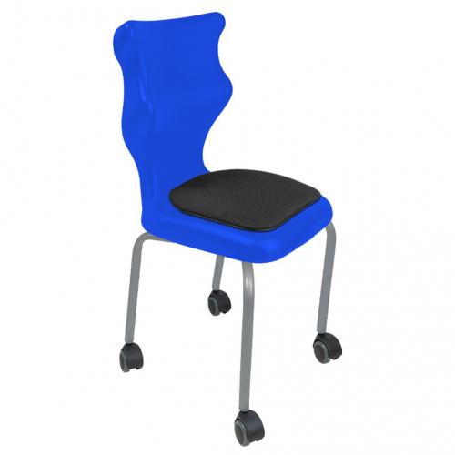 Krzesło ucznia Spider Move Soft nr 4 - stelaż biały