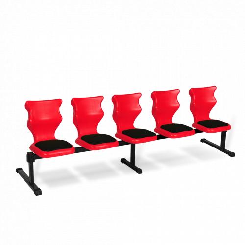 Zestaw siedziskowy Entelo Bench Soft 5 osobowy rozmiar nr 4