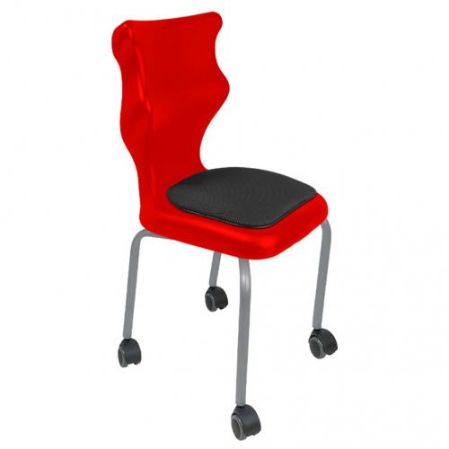 Krzesło ucznia Spider Move Soft nr 5 - stelaż biały