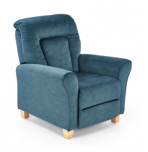 Fotel wypoczynkowy BARD ciemny niebieski