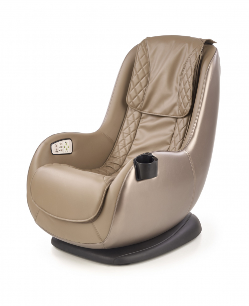 DOPIO fotel wypoczynkowy z funkcją masażu beżowy