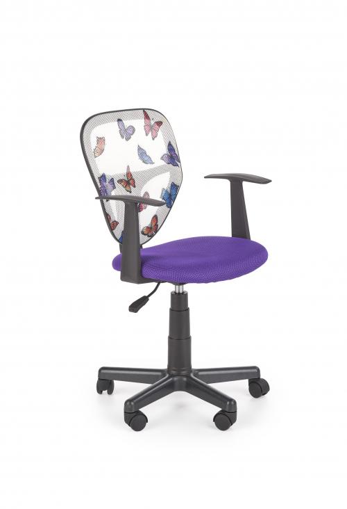 SPIKER fotel młodzieżowy fioletowy
