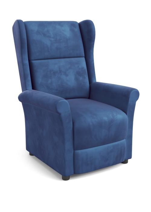 AGUSTIN 2 fotel wypoczynkowy granatowy (1p=1szt)