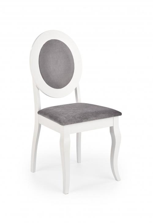 BAROCK krzesło biały / popielaty (1p=1szt)