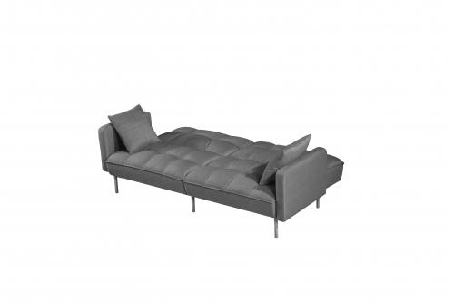 ROBERTO sofa rozkładana popielaty
