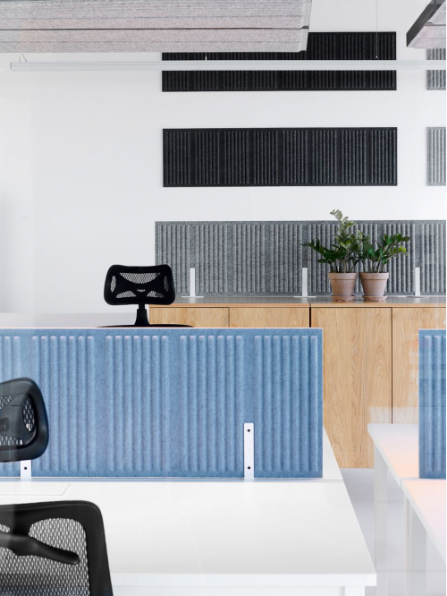 Panel akustyczny do biurka CELL CEB-41/140x40