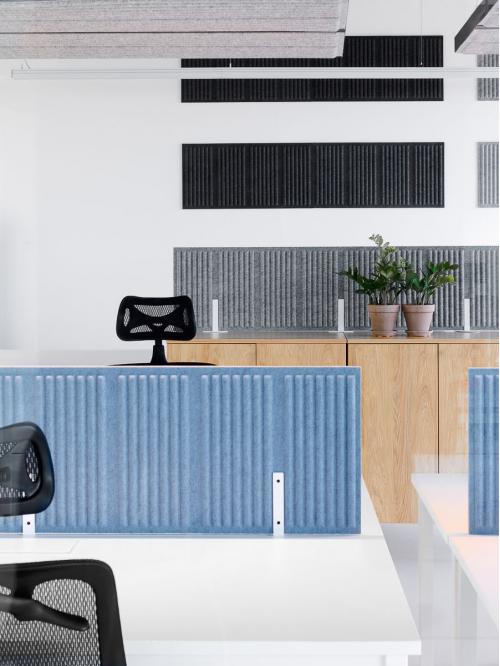 Panel akustyczny do biurka CELL CEB-2/80x40