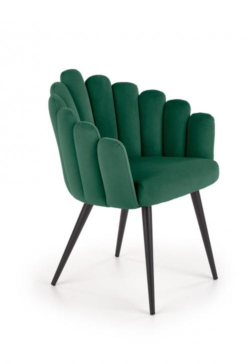 K410 fotel popielaty velvet