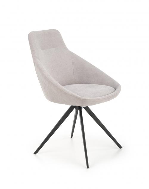 K431 krzesło jasny popiel