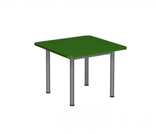 Stolik MB kwadratowy metal fi 40/ opcja regulacja wysokości