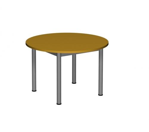 Stolik MB okrągły metal fi 40/ opcja regulacja wysokości