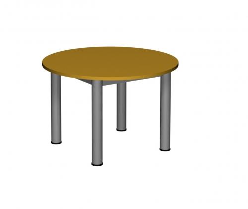 Stolik MB okrągły metal fi 60/ opcja regulacja wysokości
