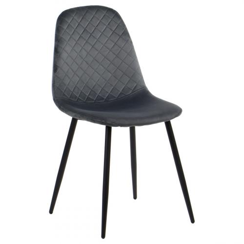 Krzesło dostawne CN-6001 szary
