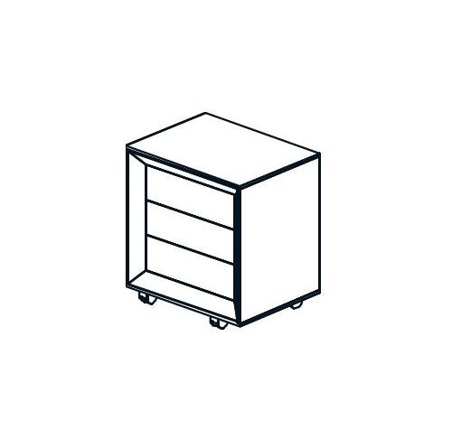 Kontener CHEVRON CN5/ 54,5x55x57h