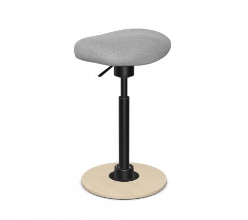 Taboret - hoker SPIN-SH-110 różne kolory - uchylne siedzisko i podstawa