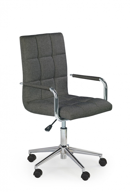Krzesło obrotowe GONZO 3 ciemny popiel