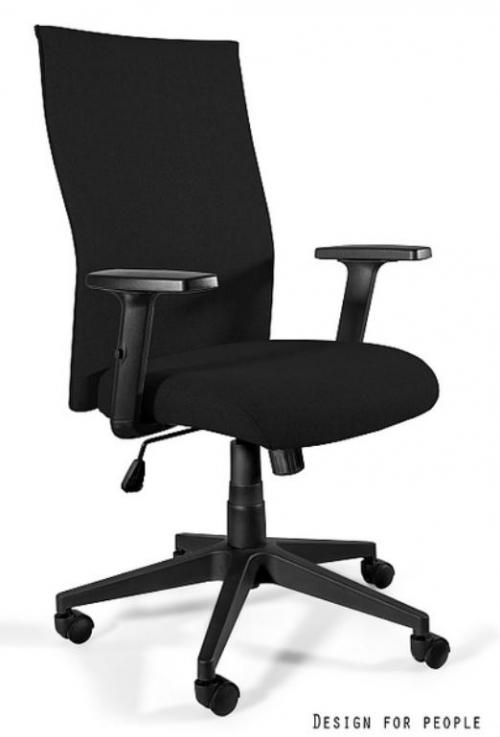 Fotel Biurowy obrotowy BLACK ON BLACK PLUS czarny