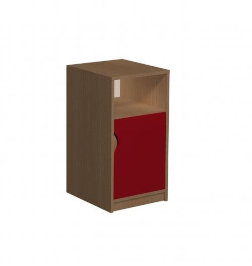Regał z szafką 2