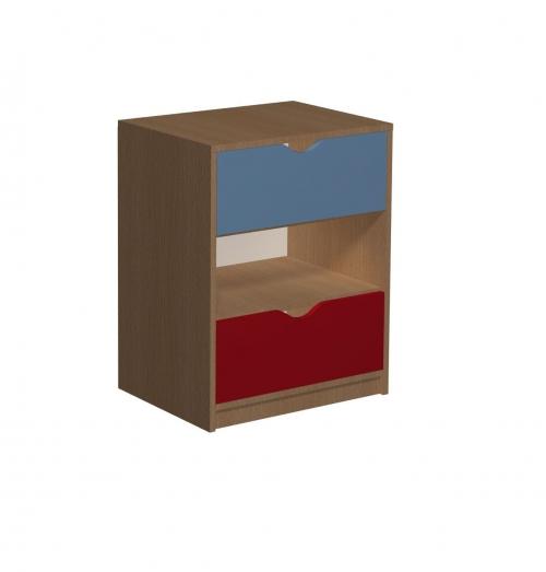 Regał z 2 szufladami 13