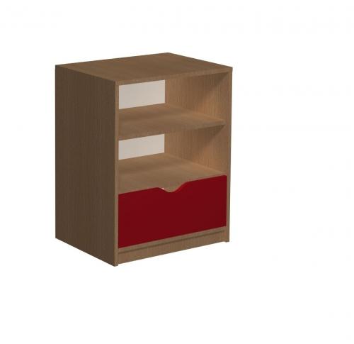 Regał z szufladą 15