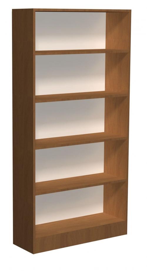 Regał biblioteczny proste półki C