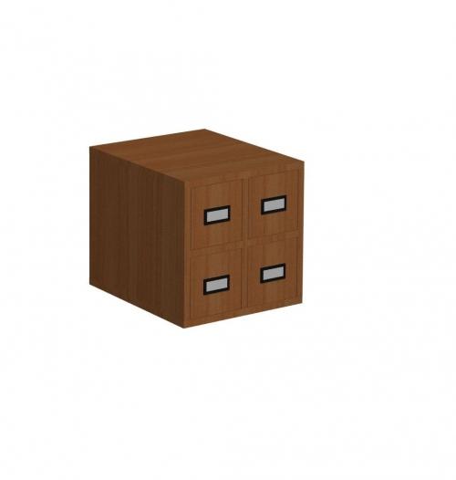 Szafka katalogowa A 4 szuflady