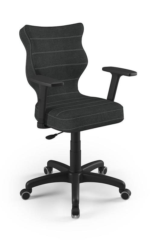 ENTELO Dobre Krzesło obrotowe ALTA wysokie z podnóżkiem nr 4