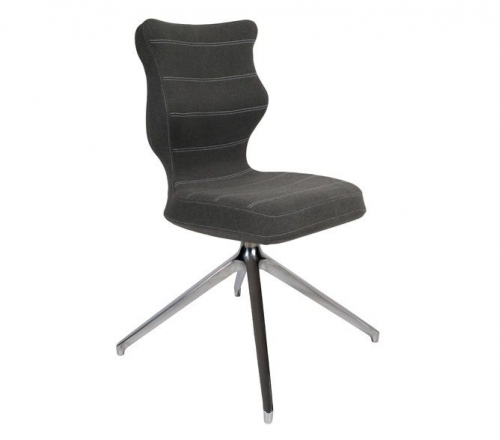 Krzesło konferencyjne PERTO nr 6 - podstawa chromowana